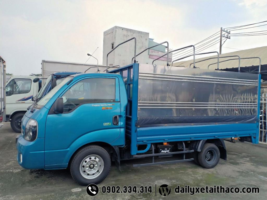 xe tải kia 1t9 thùng mui bạt